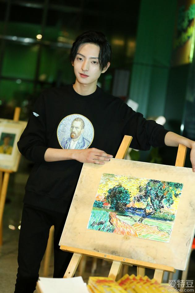 赵天宇现场演唱《至爱梵高》片尾曲