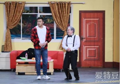 《欢乐喜剧人》第四季大潘崔志佳合体演小品