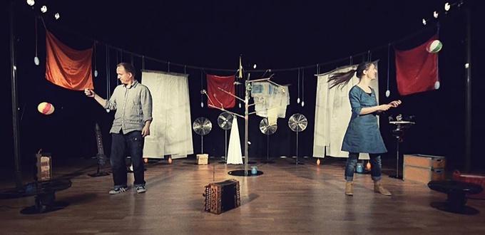 """丹麦儿童剧《风•趣》—— 探索和发现""""风""""富多彩"""