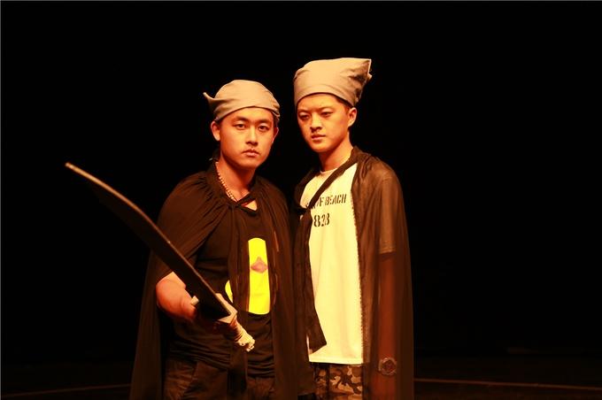 大学生戏剧艺术节:话剧《尾生与丘》