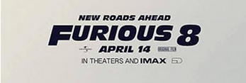 《速激8》首曝海报 范-迪塞尔站在道奇挑战者面前