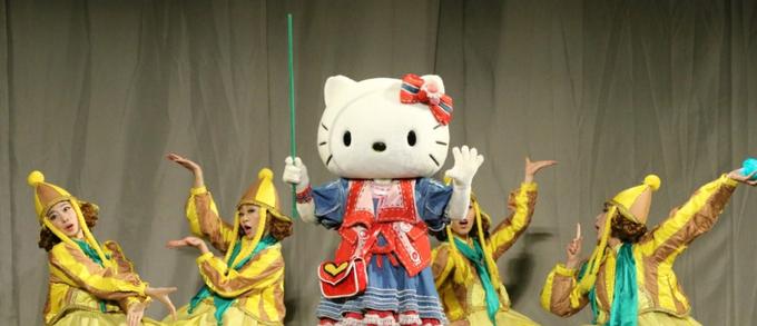 日本原版Hello Kitty舞台剧魔法王国中文版亮相六一儿童节