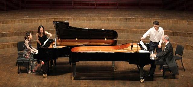 朱楣双钢琴音乐会 两琴四手拨动心弦