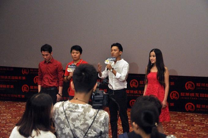 《恐怖爱情故事》在京举行首映会 惊悚片抢占暑期档