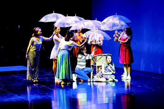 大型多媒体话剧《台北新娘》参加中国艺术节