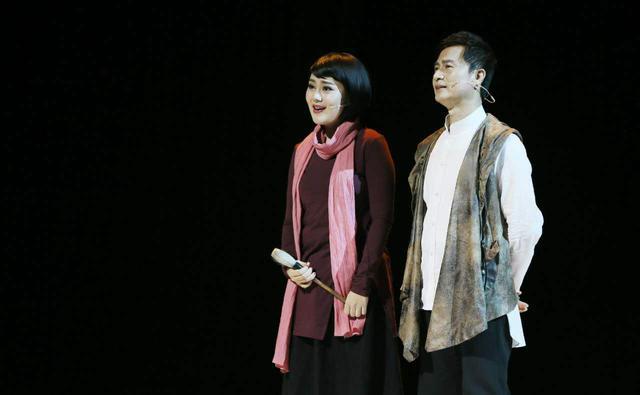 孙维良自编自演音乐剧《墨·海》