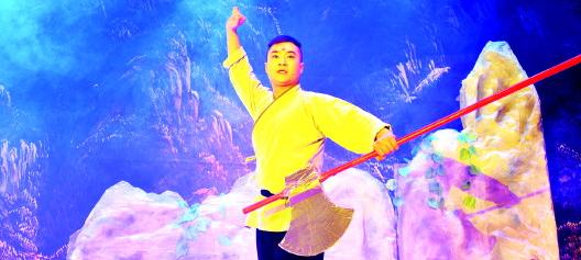 魔幻儿童话剧《少年石敢当》首演反响热烈