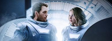 科幻电影《太空旅客》海外票房登顶