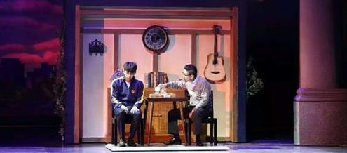 陈玺旭出演音乐剧《不能说的秘密》
