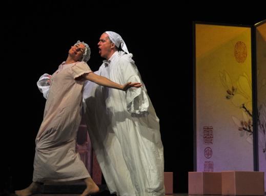 百老汇音乐剧《我情我愿》在福建大剧院上演