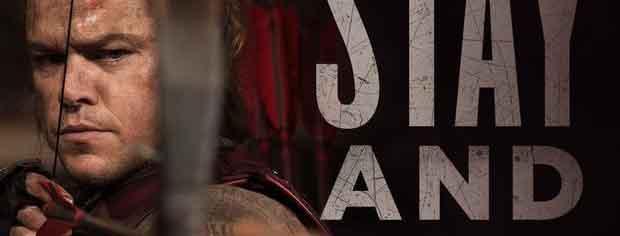 《长城》北美首周末1808万票房位列第三