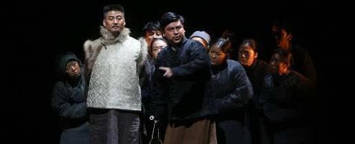 话剧《白鹿原》于2月18日在西安人民剧院开演