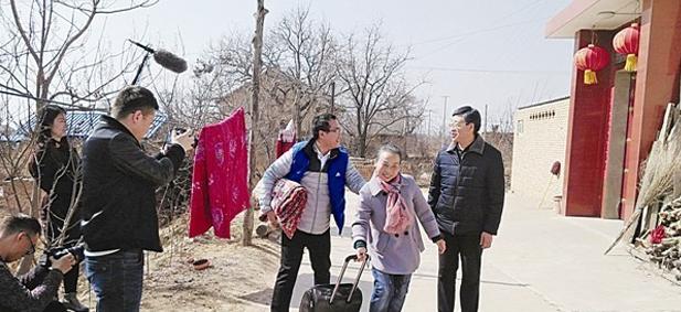 微电影《大槐树下》在平陆县杜马乡东坪头村开机