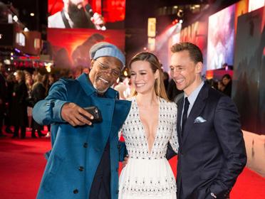 《金刚:骷髅岛》在伦敦举办首映仪式主创亮相