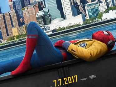 电影《蜘蛛侠:英雄归来》发布前瞻海报