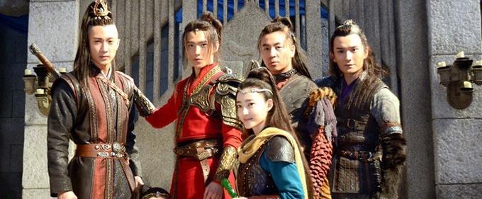 电视剧《武动乾坤》探班 剧组拍戏追求高品质