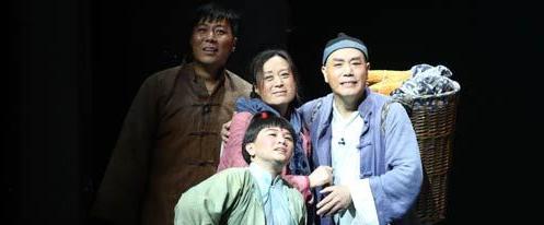 原创大型话剧《成兆才》在石家庄人民会堂上演