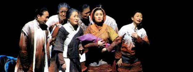 音乐剧《我是川军》于成都锦城艺术宫首演