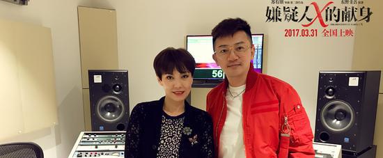 陈洁仪为电影《嫌疑人x的献身》演唱主题曲