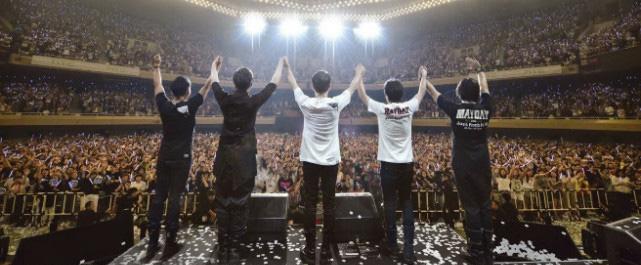 五月天重返初次演出舞台举办20周年演唱会
