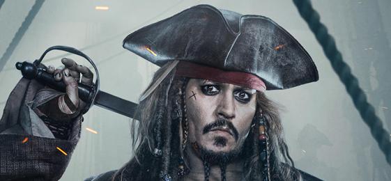 《加勒比海盗5:死无对证》曝角色海报