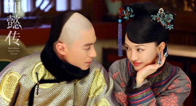 电视剧《如懿传》探班 霍建华被众嫔妃嫌弃