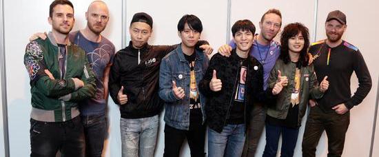 酷玩乐团入围2017告示牌音乐奖提名名单