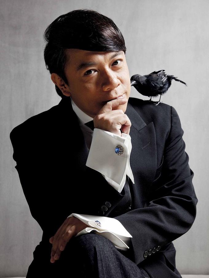 蔡康永何洁同台录制网综《无与伦比的发布会》