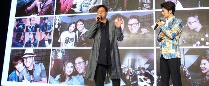 谭咏麟新专辑《欣赏》发布会在京举行