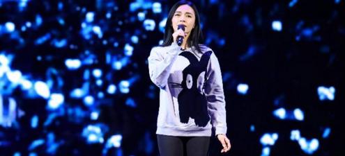 2017《跨界歌王》姚晨深情演绎国漫主题曲