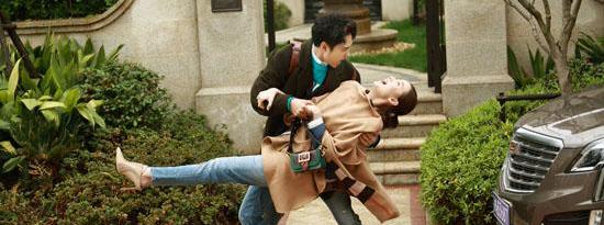 宋佳袁弘新剧《爱的正确标记法》正在热拍
