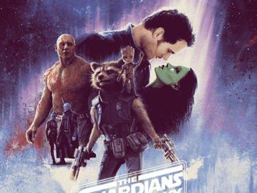 《银河护卫队2》发布饭制艺术海报