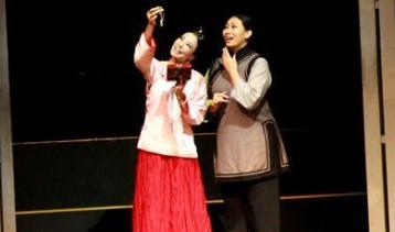粤语版话剧《金锁记》在海南省歌舞剧院上演