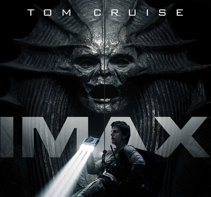 电影《新木乃伊》曝光两款IMAX海报