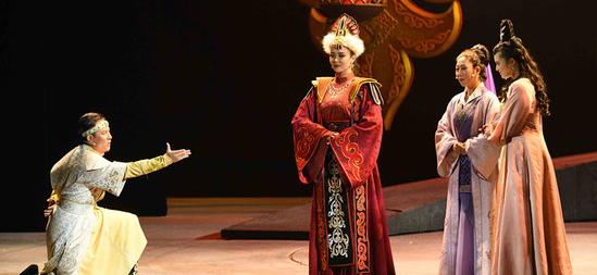 新疆民族音乐剧《黑眼睛》6月23日南京上演