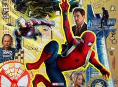 《蜘蛛侠:英雄归来》发布IMAX海报