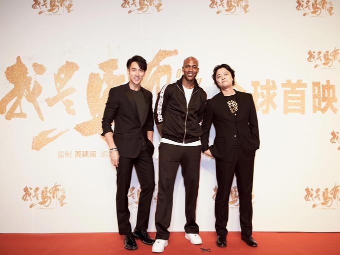 马布里吴尊亮相《我是马布里》北京首映礼