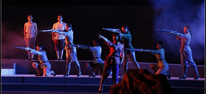 音乐剧《胜利大营救》在广州友谊剧院公演