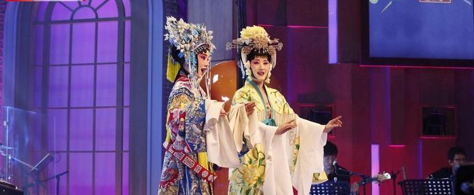 《音乐大师课》杨钰莹首次京剧扮相惊艳亮相
