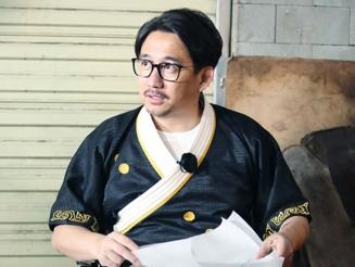 《极限挑战》第三季黄磊获得神秘装备