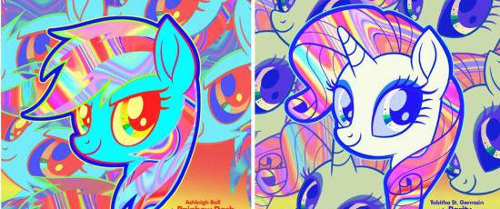 动画大电影《彩虹小马》公开了本作最新海报