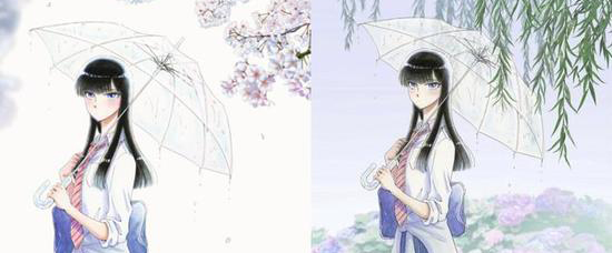 TV动画《恋如雨止》公开动画最新视觉图