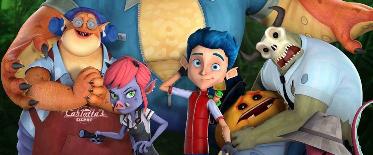动画电影《怪物岛》今日发布国际版角色海报