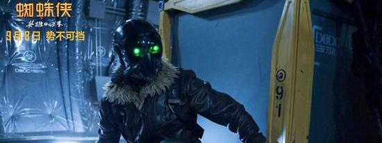 电影《蜘蛛侠:英雄归来》票房已达5.9亿