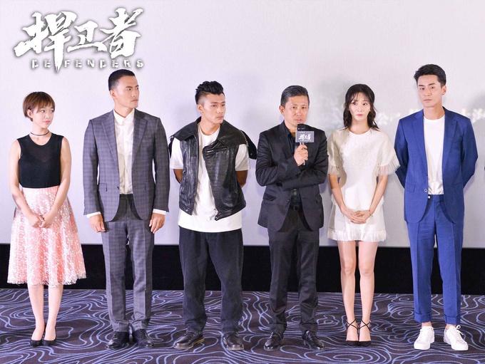 两代军人亮相电影《捍卫者》北京首映礼