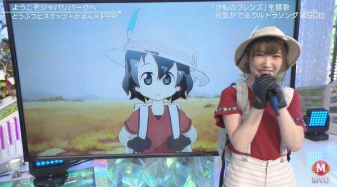 动画《兽娘动物园》LIVE首次参加电视活动