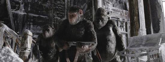 电影《猩球崛起3:终极之战》票房破五亿