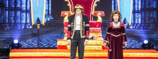 《喜剧总动员》第二季魏大勋谭松韵上演王子受难记
