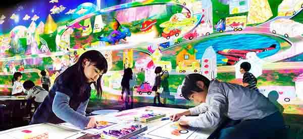 teamLab花舞森林与未来游乐园艺术展亮相北京