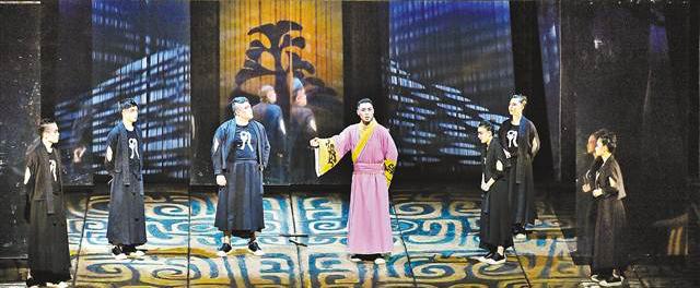 话剧《孔子》在重庆大剧院首演
